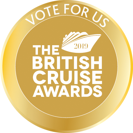 Vote for us in The British Cruise Awards 2019