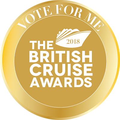 Vote for me in The British Cruise Awards 2018