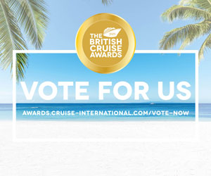 Vote for us in The British Cruise Awards 2019 MPU